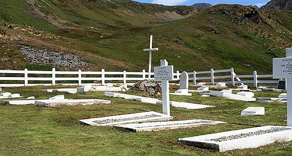 Grytviken Cemetery. Photo Ruth Chaloner