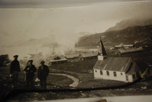 Old Grytviken. Photo Sandefjord Whaling Museum.